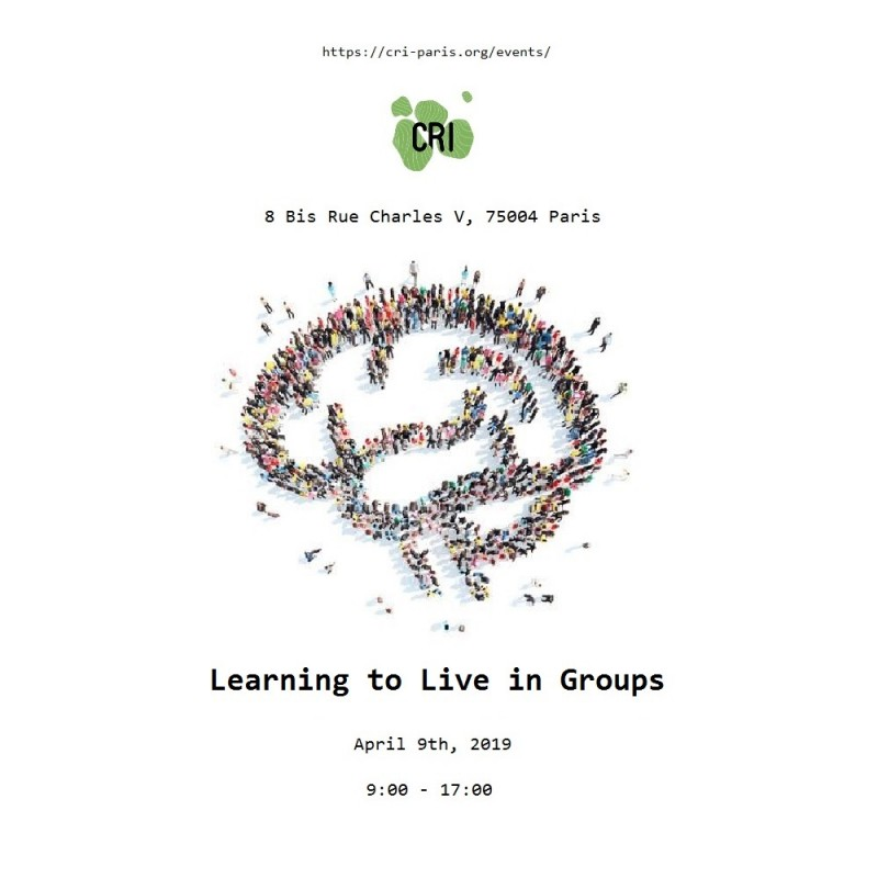 [Thematic Workshop] Learning to Live in Groups