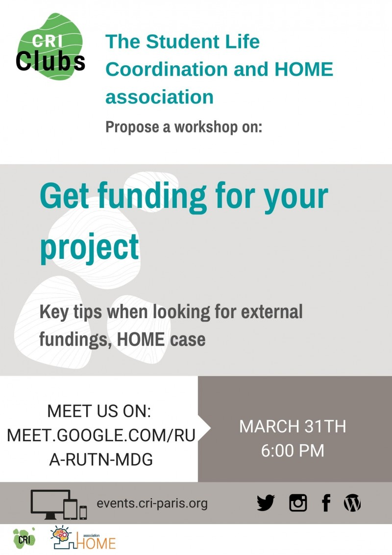Get funding for your project