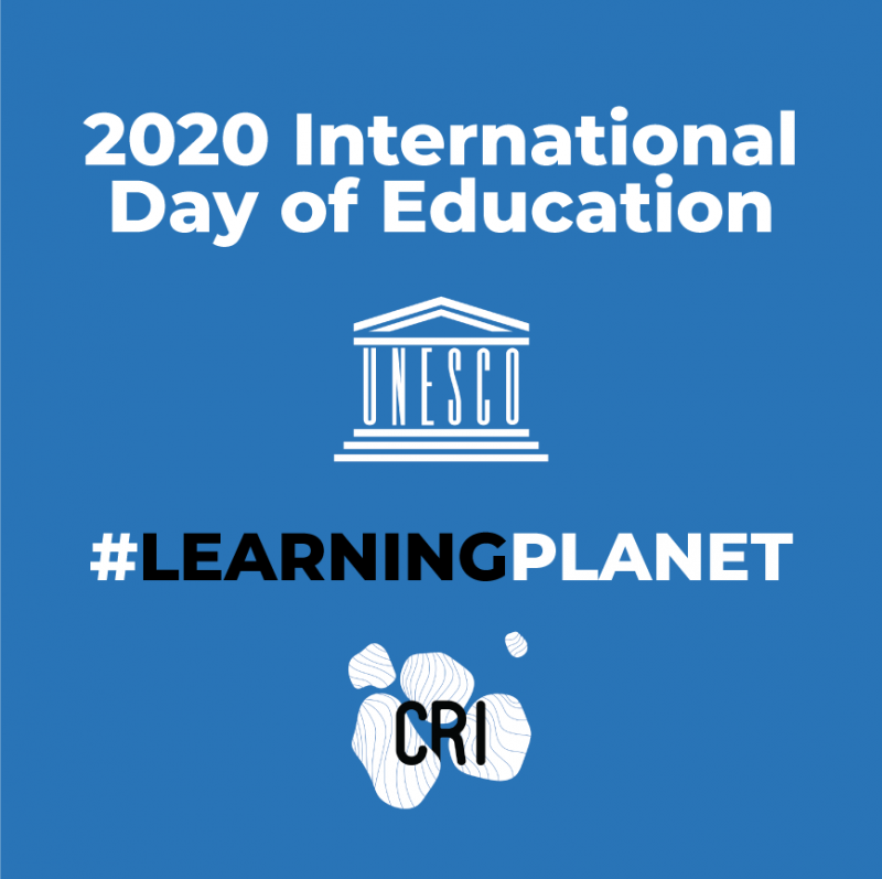 International Day of Education and launch of #LEARNINGPLANET