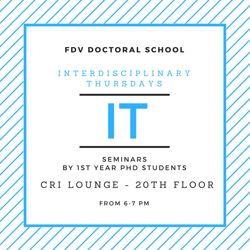 Interdisciplinary Thursdays Seminar #4