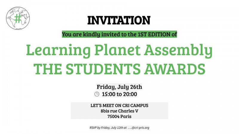 Learning Planet Student Awards