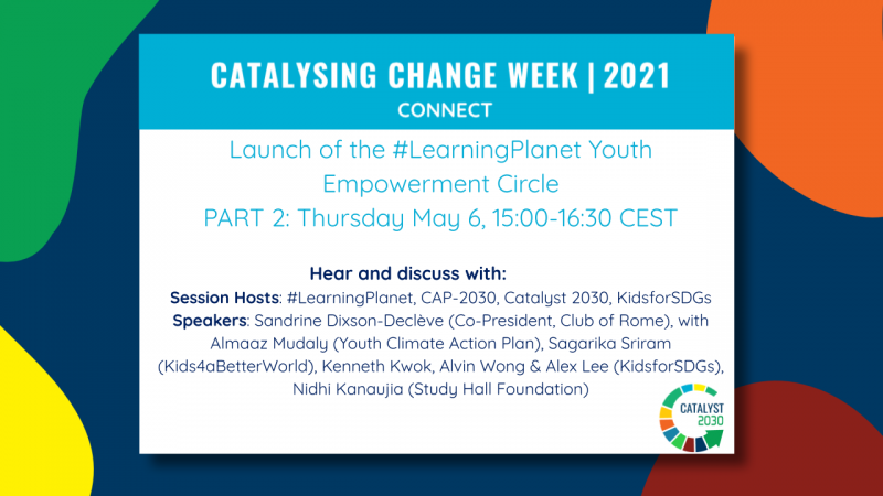 Launch of the #LearningPlanet Youth Empowerment Circle pt. 2