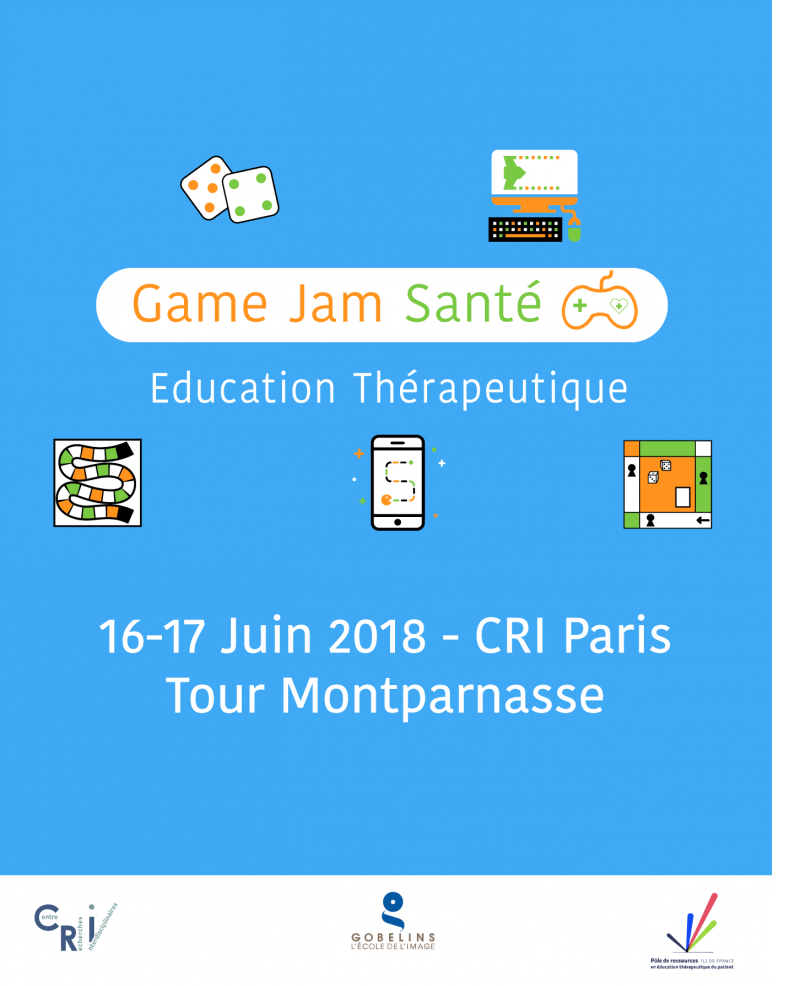 First Health Game Jam about Patient Education