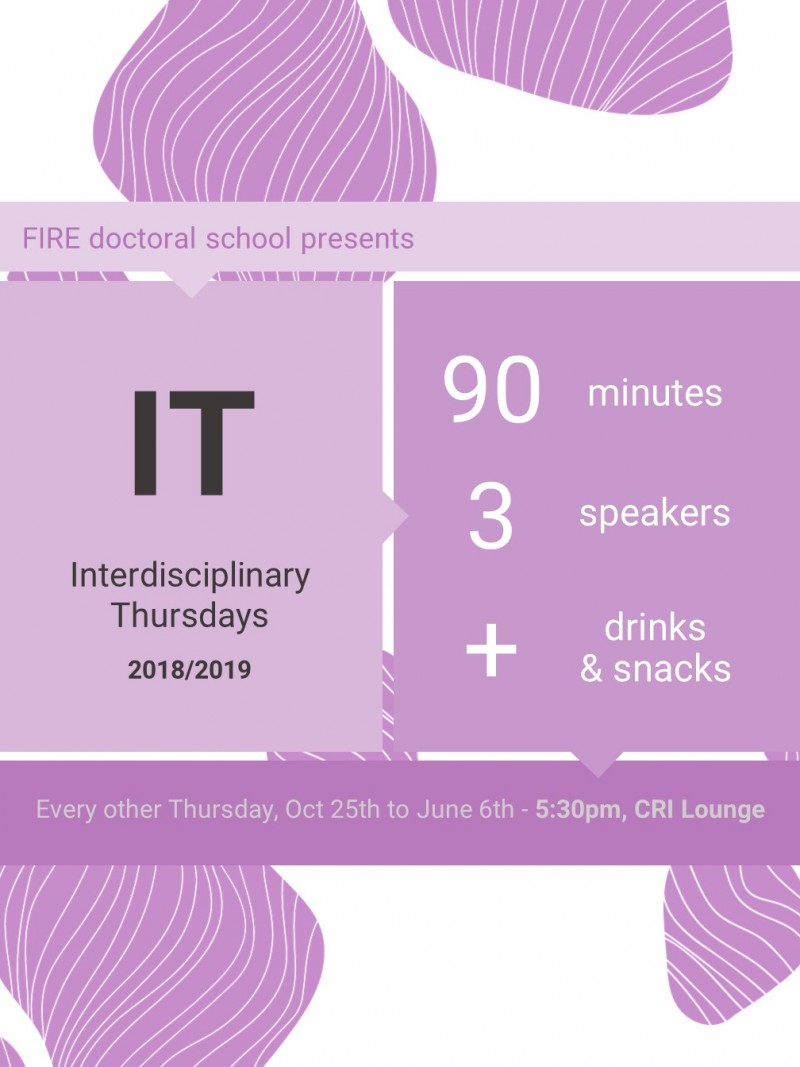 IT: Interdisciplinary Thursday