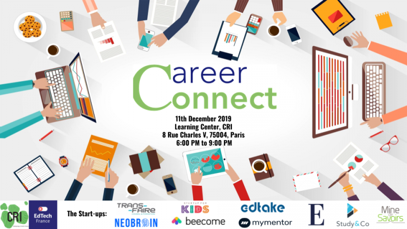 EdTech France & CRI and EURIP Career Connect #2