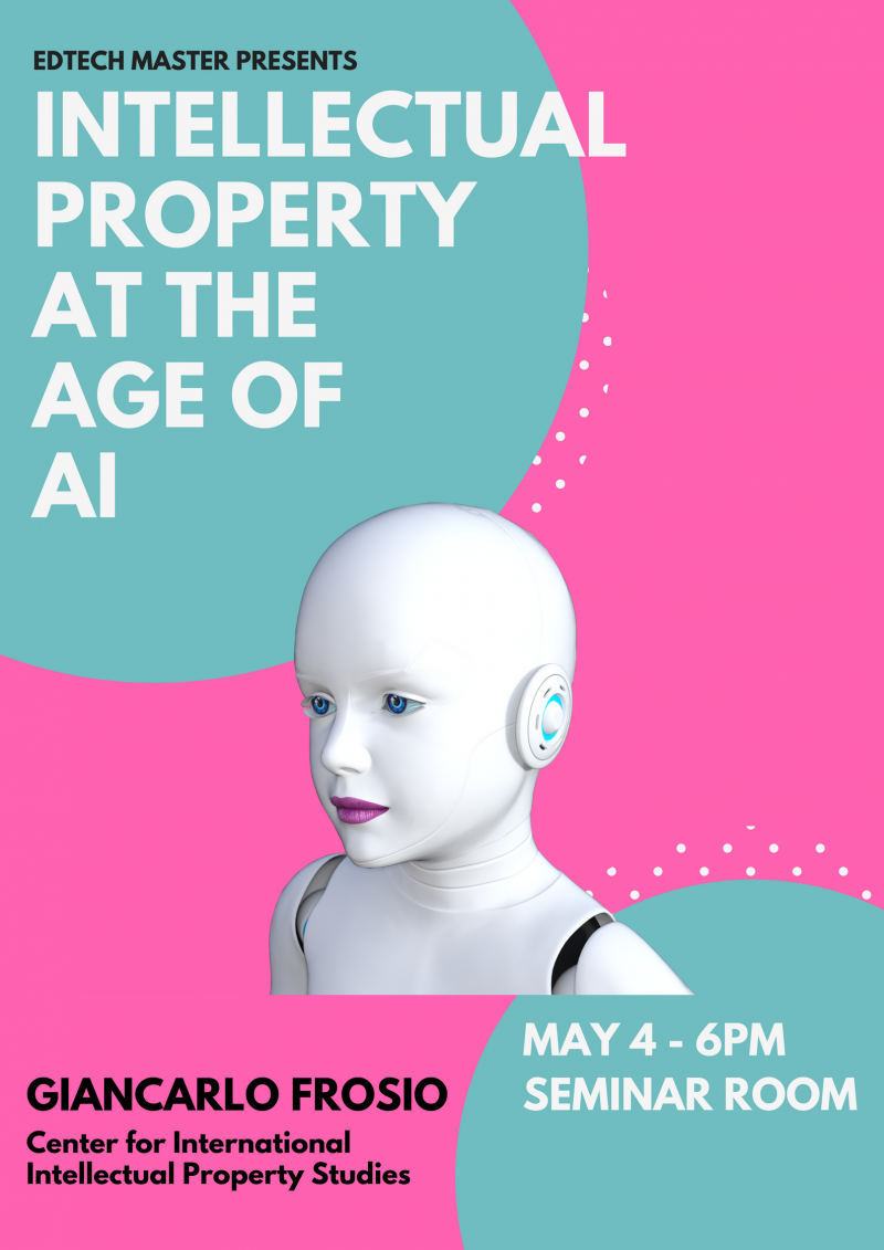 Masterclass EdTech: Intellectual Property at the Age of AI