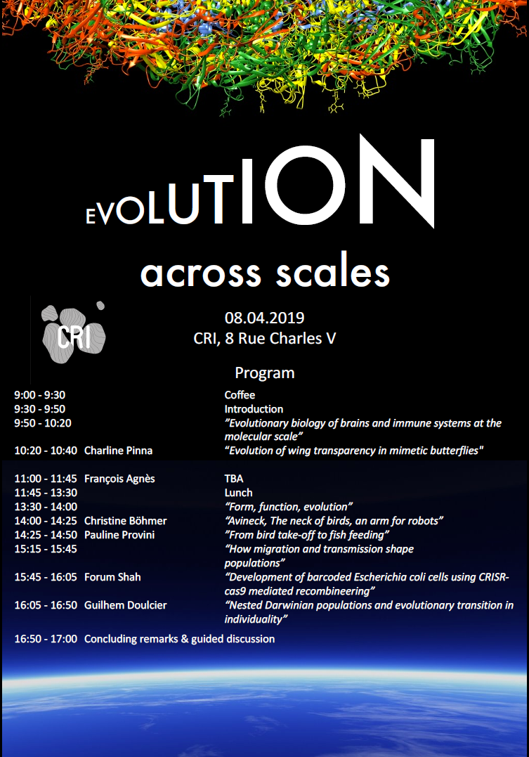 "[Thematic Workshop] ""Evolution across scales"""