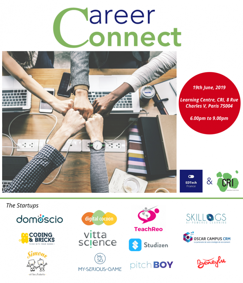 Career Connect with EdTech France (LIMITED SPACES AVAILABLE)