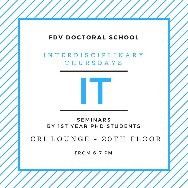 Interdisciplinary Thursdays Seminar #15